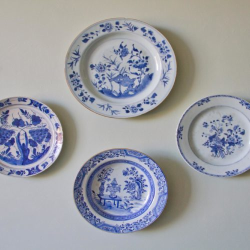 Plates on the wall at Homme House
