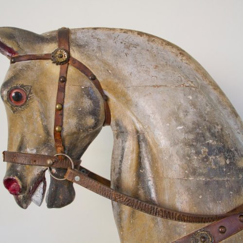 Old rocking horse at Homme House