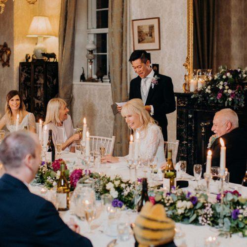 A wedding speech